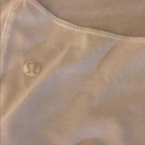 lululemon athletica Tops - White Lululemon tank 2